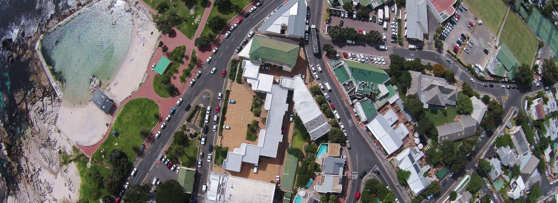 Camps Bay Village - Aerial View