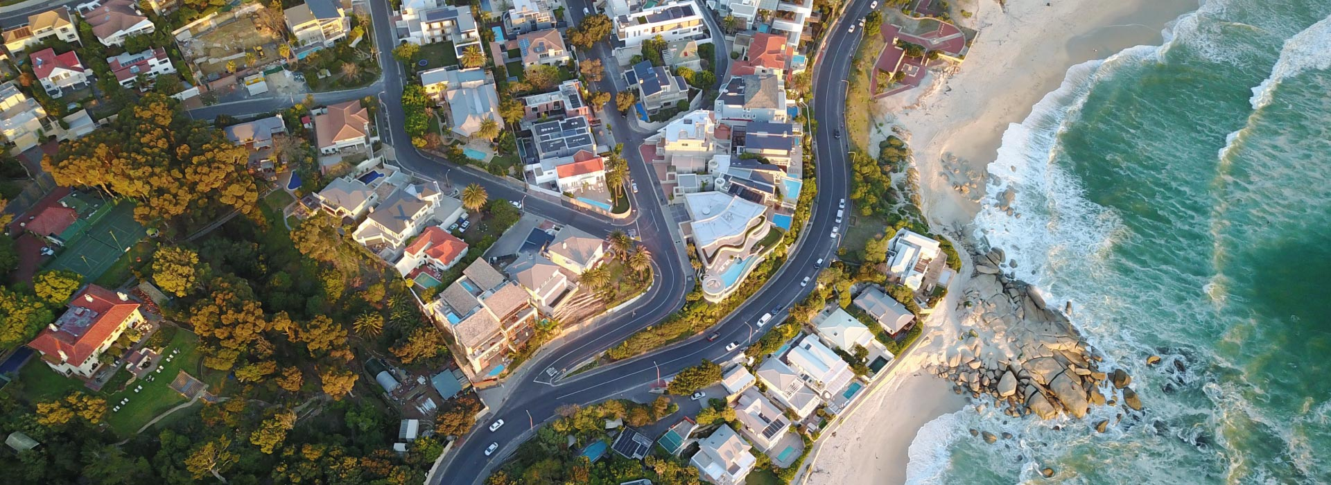 Camps Bay Retreat - Aerial View